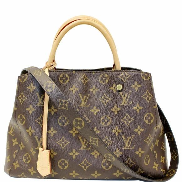 Louis Vuitton Handbags - LOUIS VUITTON Montaigne MM Monogram Shoulder Bag